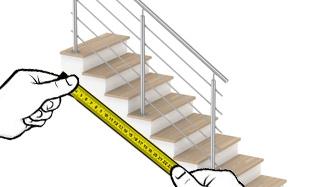 garde corps barre escalier