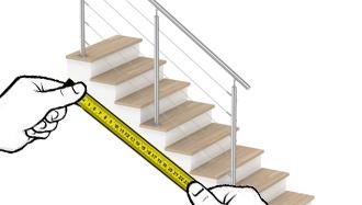 garde corps câble escalier